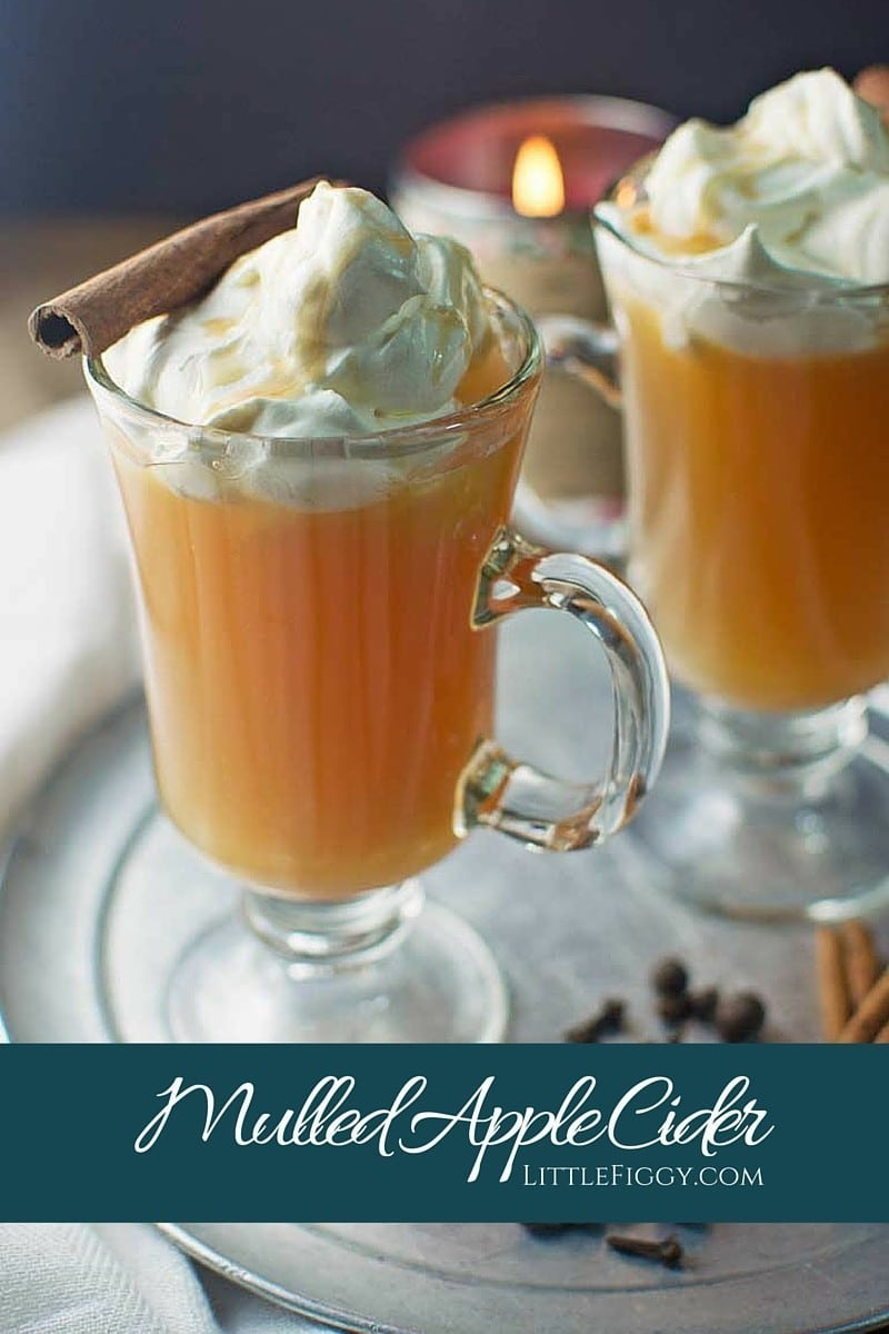 Mulled Apple Cider - Little Figgy Food