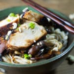 Ginger Chicken Noodle Bowl