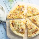 Caramelized Onion with Brie Pizza