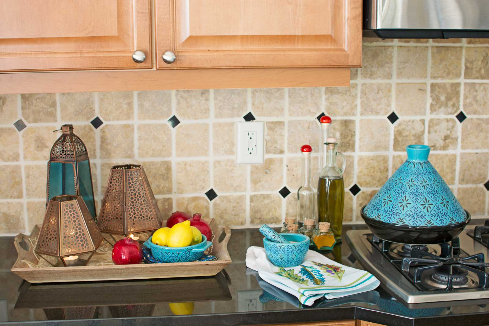 My Bohemian Kitchen Update From Cost Plus World Market   Check Out How I  Gave My