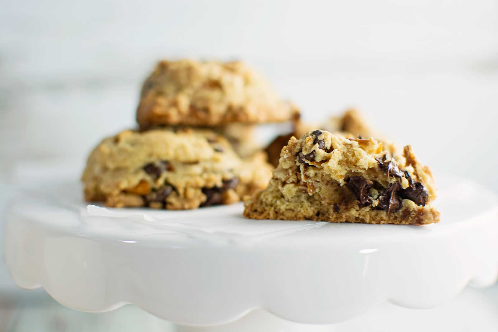 Chocolate Chip Pretzel Cookies Little Figgy Food