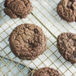 Triple Chocolate Mocha Cookies
