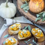 Sage and Butternut Bruschetta, The Perfect Fall Appetizer